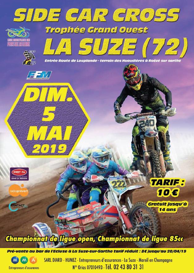 Info Motocross - épreuve Roëze sur Sarthe (72) 5 mai