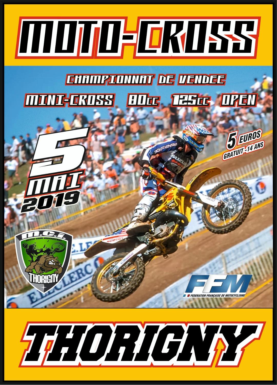 Info Motocross - Thorigny (85) 5 mai