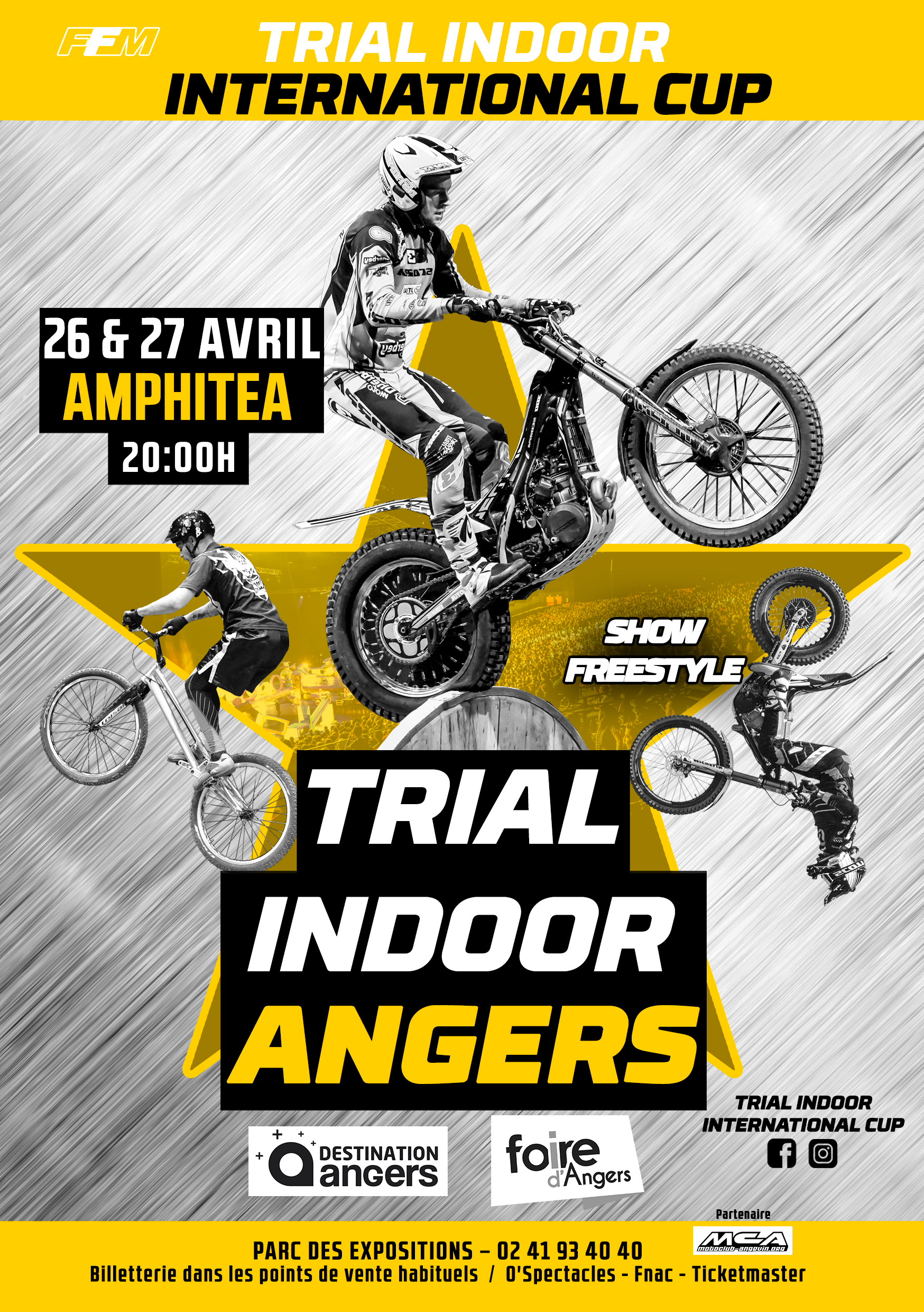Info Trial Angers 26 et 27 avril