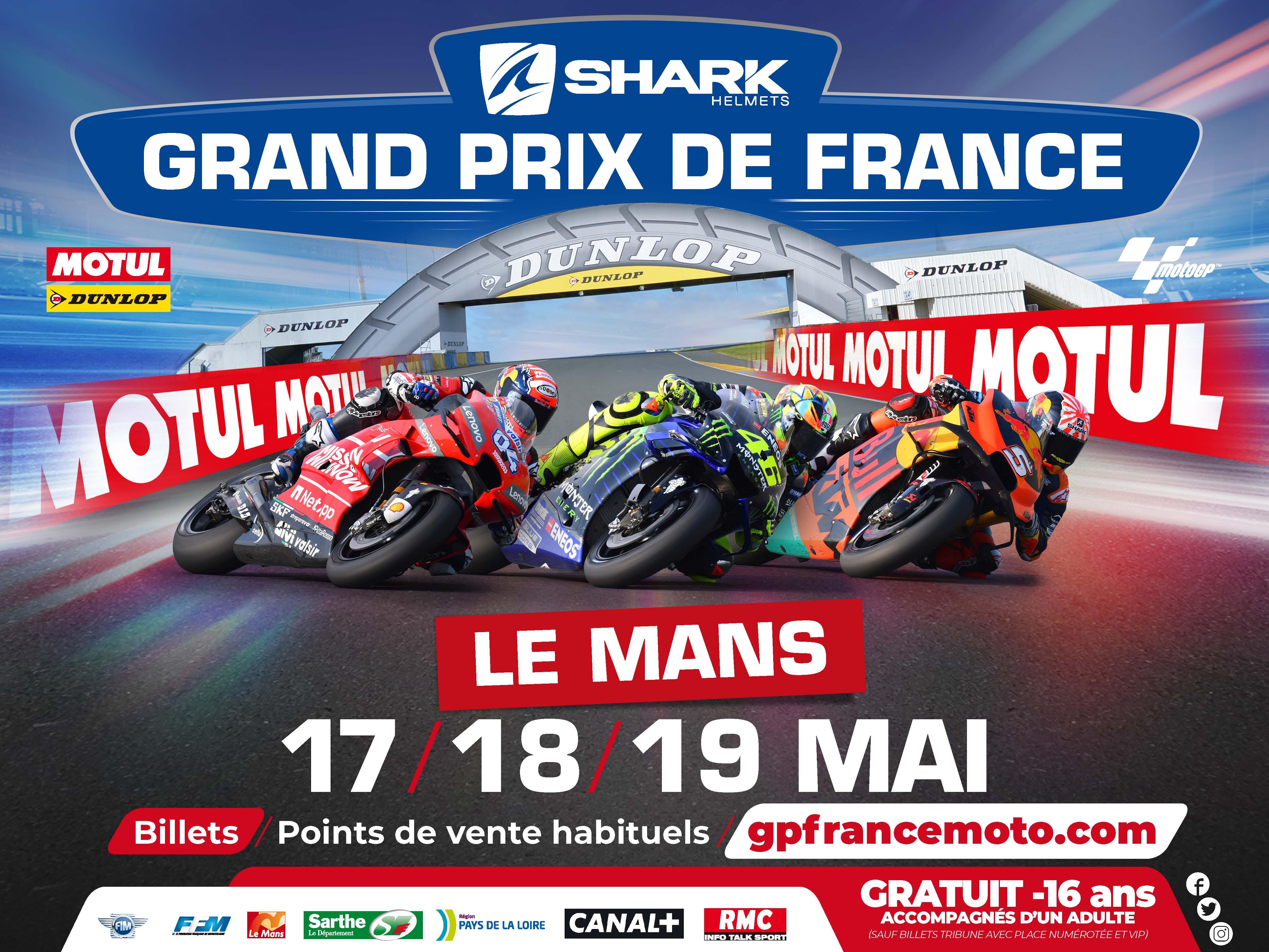 Infos Vitesse - Grand Prix de France Le Mans