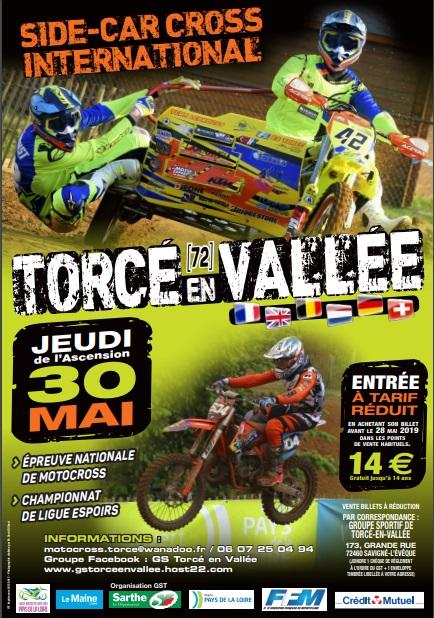 Infos Motocross - épreuve Torcé en Vallée (72) 30 Mai
