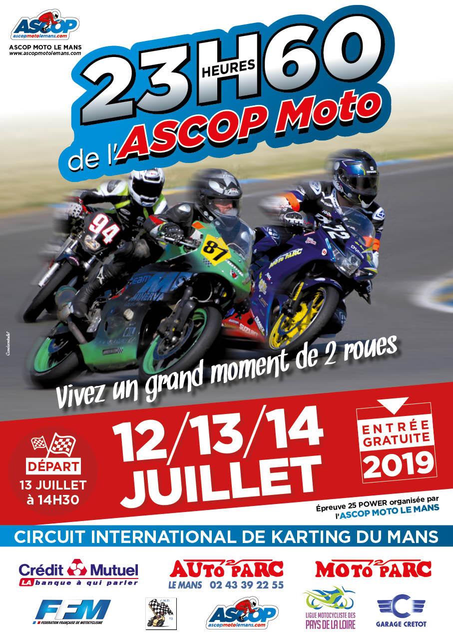 Info Vitesse - épreuve Le Mans (72) 12-13-14 juillet