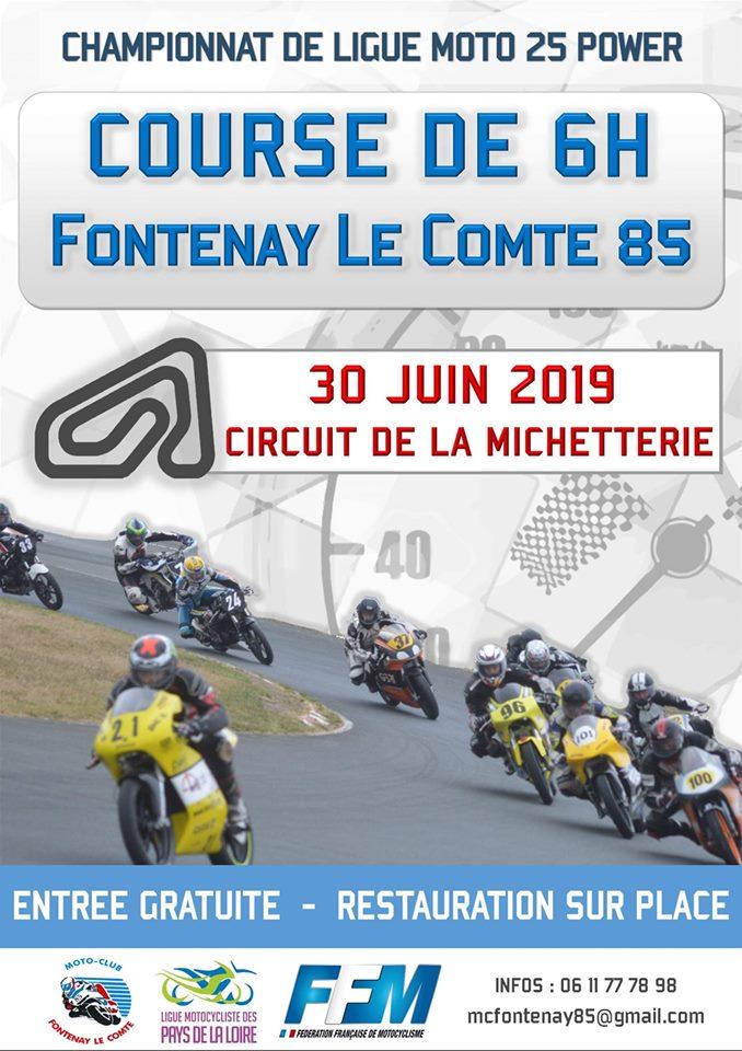 Info Vitesse - épreuve Fontenay le Comte (85) 30 juin