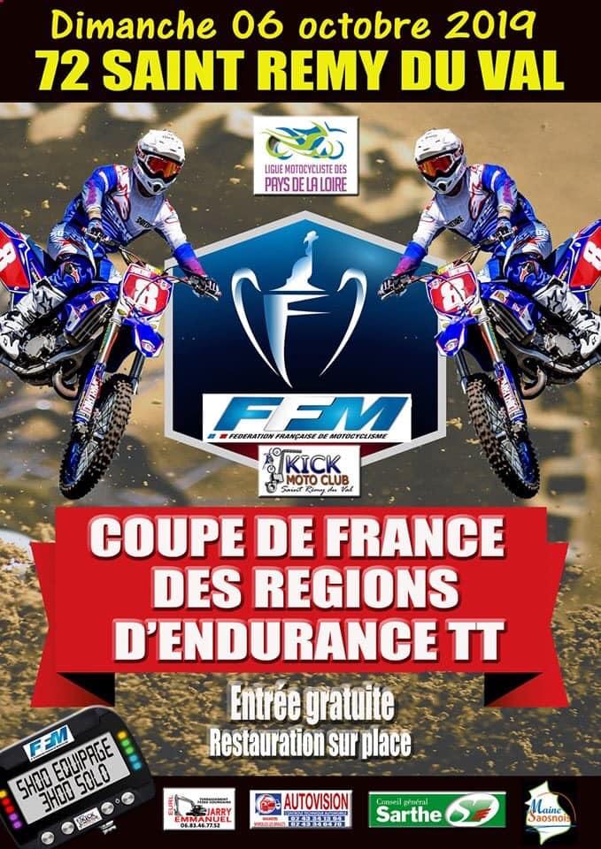 Infos Endurance TT - Coupe de France des Régions Endurance TT