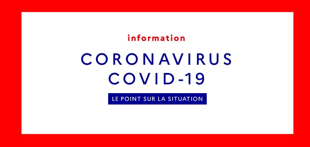 Infos Ligue - Suivi Coronavirus