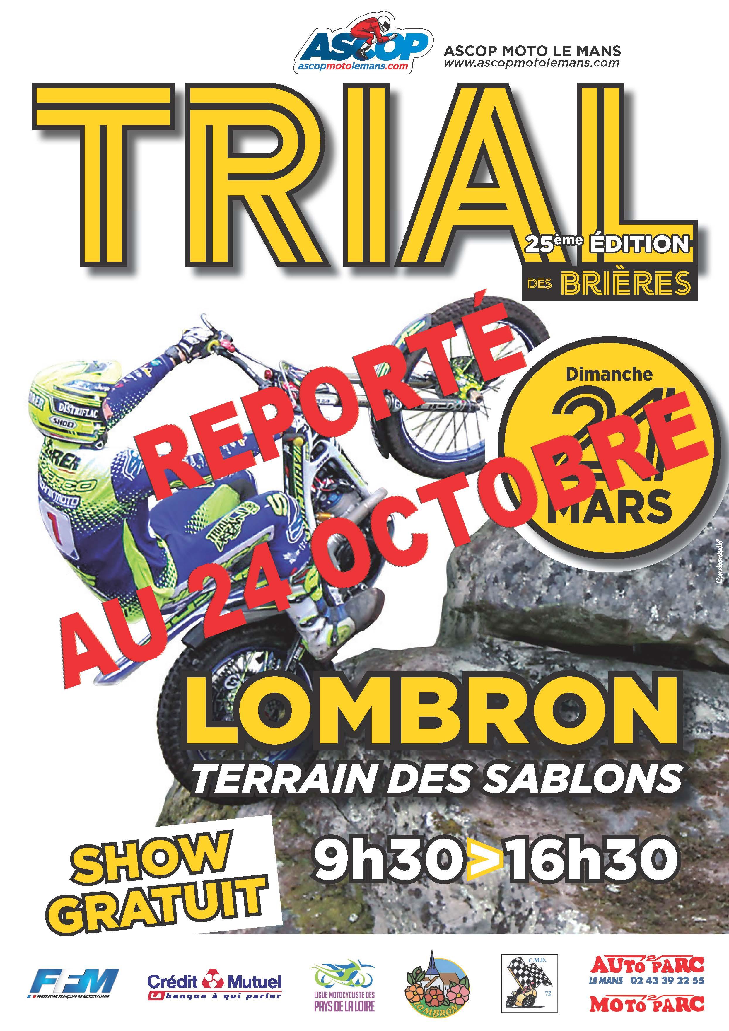 Info Trial - report du Trial de Lombron